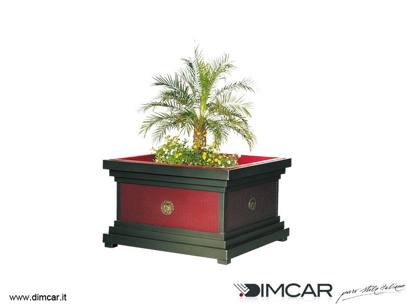 Metal Flower pot Fioriera Ercolano - DIMCAR