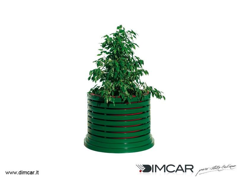 Metal Flower pot Fioriera Versilia - DIMCAR