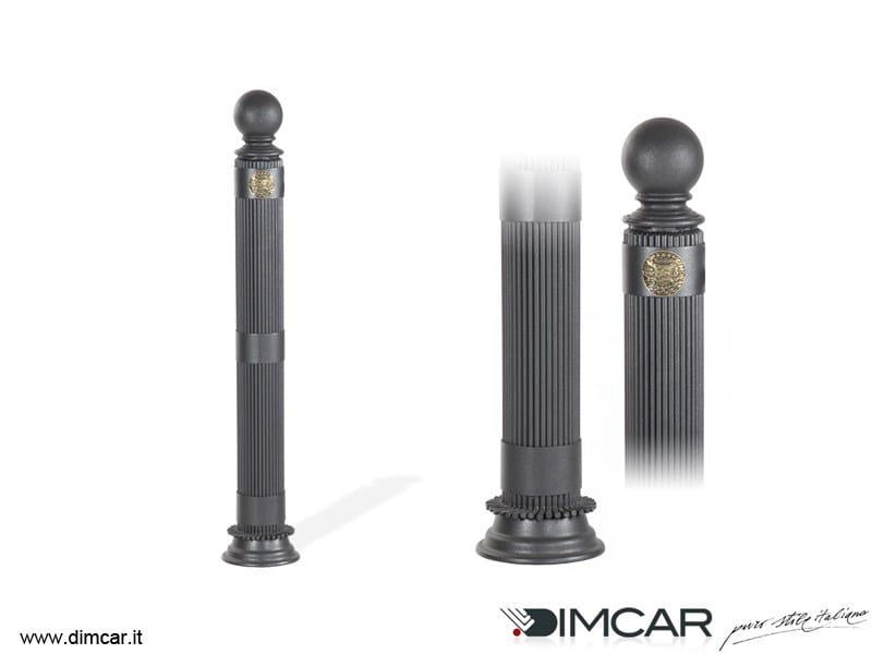 Fixed steel bollard post Dissuasore Doria - DIMCAR