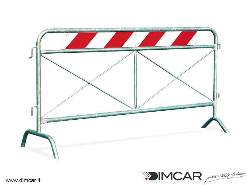 Steel pedestrian barrier Transenna Aprilia - DIMCAR
