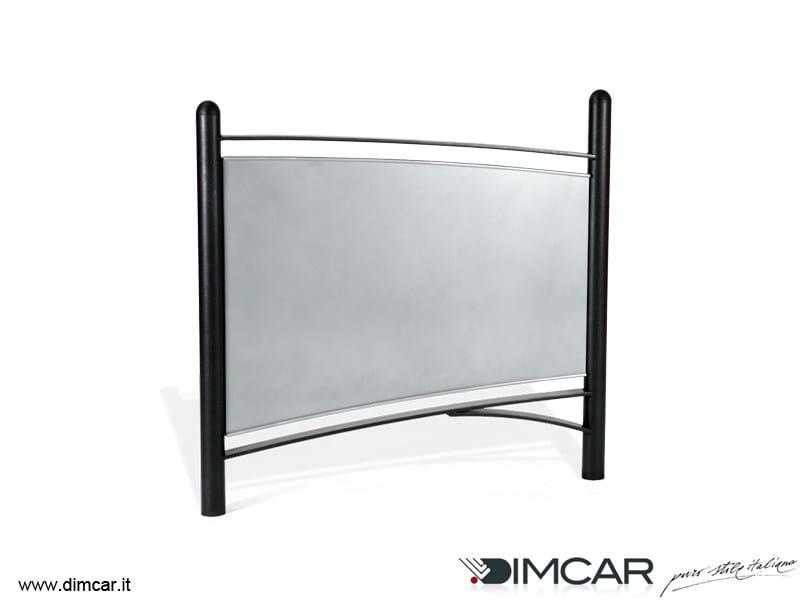Galvanized steel pedestrian barrier Transenna Tea - DIMCAR