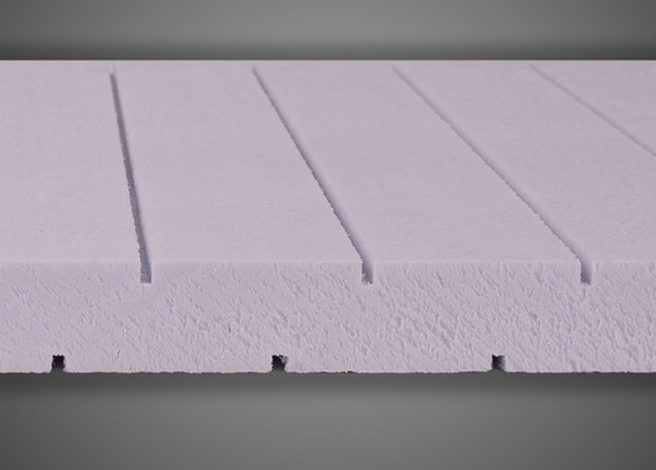 XPS thermal insulation panel X-FOAM® TRC | XPS Insulation system for special application - Ediltec