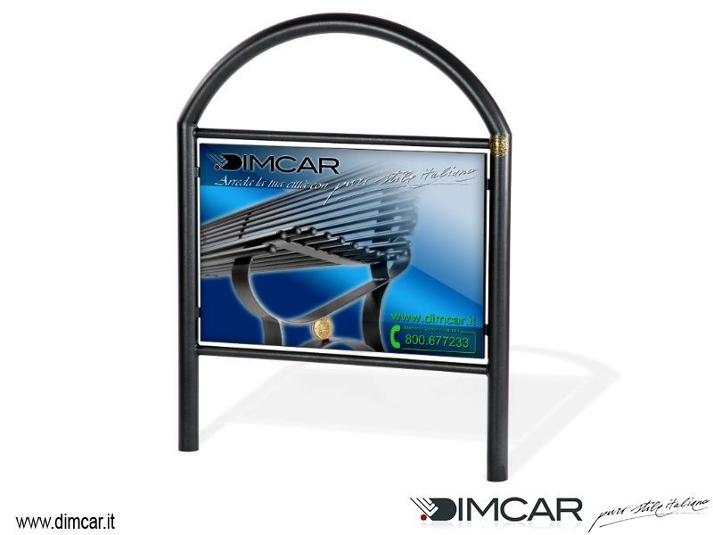 Steel pedestrian barrier Transenna City - DIMCAR
