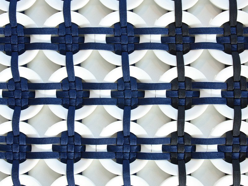 Patterned Handmade outdoor rug LOOM by Paola Lenti