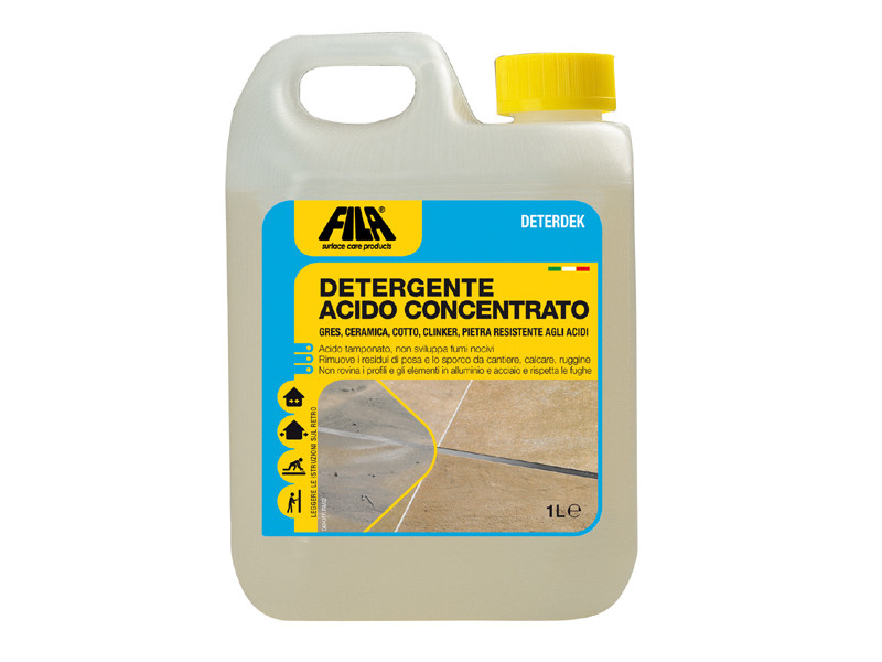 Acid descaling floor cleaner DETERDEK - Fila Industria Chimica