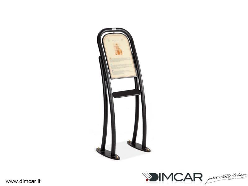 Galvanized steel information stand Leggio Archè - DIMCAR