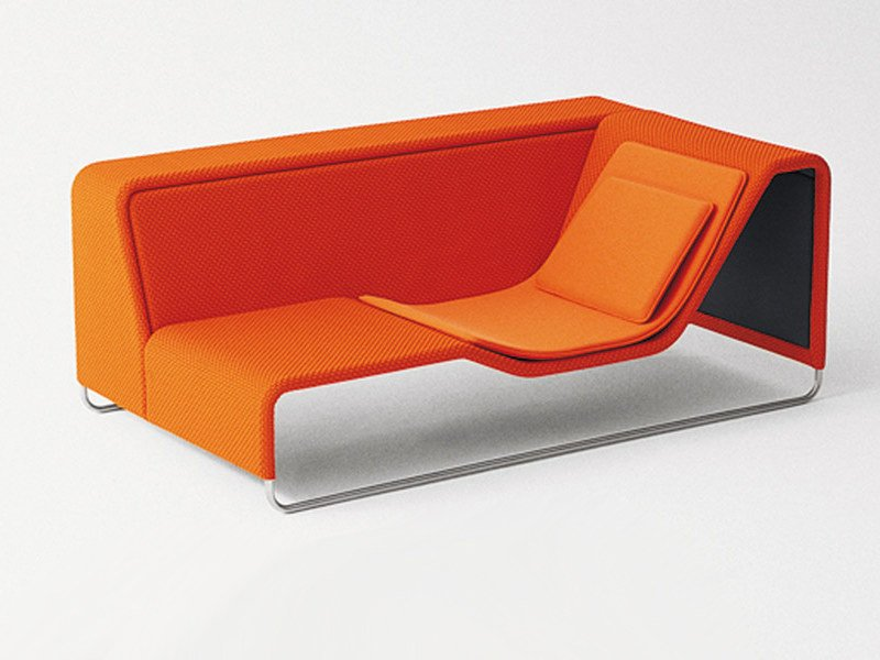 Technical fabric garden daybed ISLAND | Garden daybed by Paola Lenti