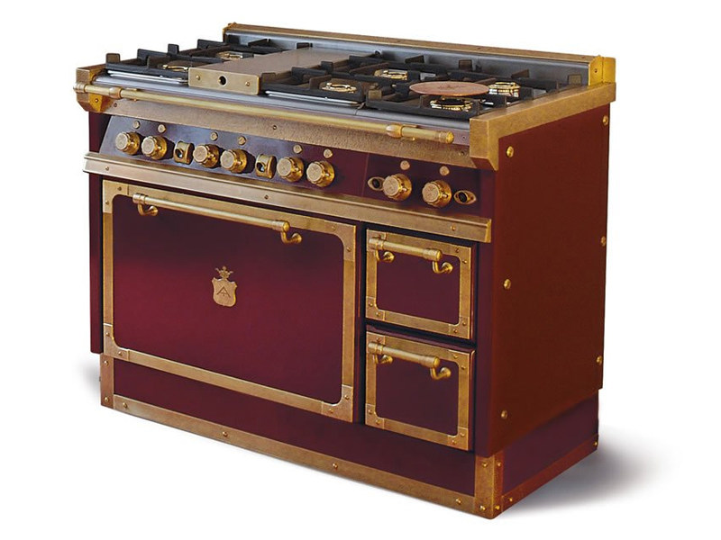 Cucina a libera installazione in acciaio OG118 | Cucina a libera ...