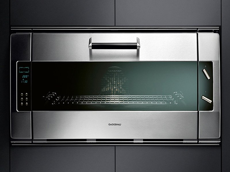 horno encastrable el ctrico eb 385 388 by gaggenau. Black Bedroom Furniture Sets. Home Design Ideas