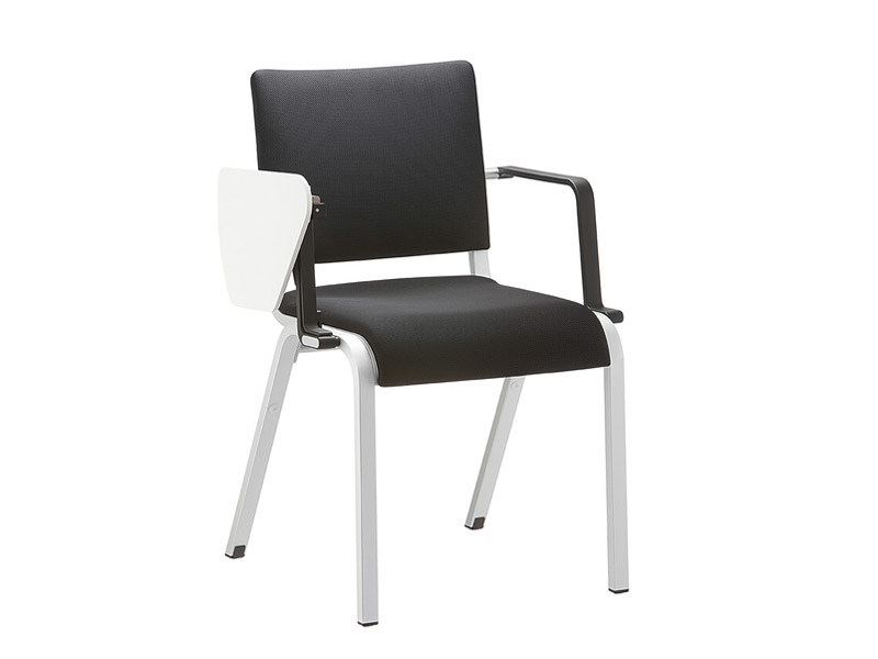Stackable fabric training chair with armrests ALITE | Training chair with armrests - Brunner