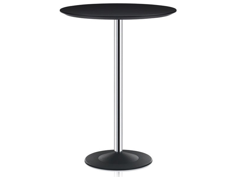 Round HPL table CROSS | Round table - Brunner