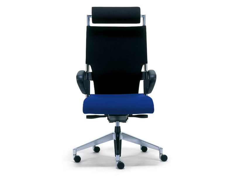 Task chair with 5-Spoke base with casters DRIVE | Task chair with armrests - Brunner