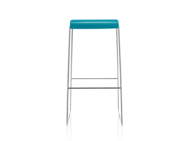 High sled base stool FINA BAR - Brunner