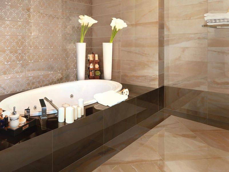 Pavimento rivestimento in gres porcellanato effetto marmo luxor by ceramica santagostino - Ultime tendenze pavimenti interni ...