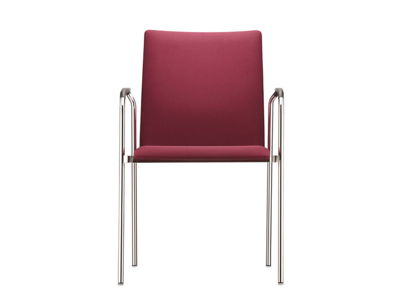 Stackable training chair with armrests FIRST CLASS - Brunner