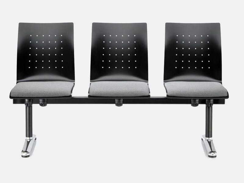 HPL beam seating FOX | Beam seating - Brunner