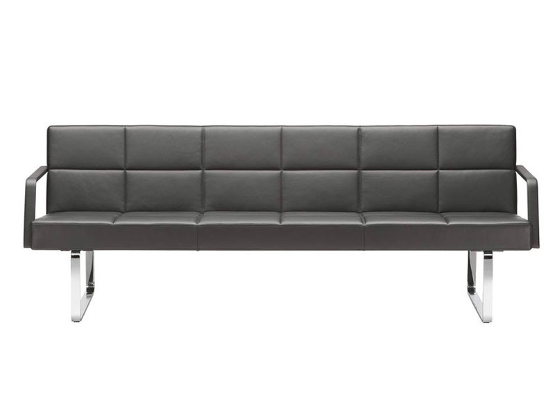 3 seater leather sofa GRATO | 3 seater sofa by Brunner