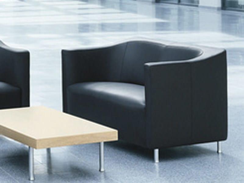 2 seater leather sofa HAVANA | Sofa - Brunner