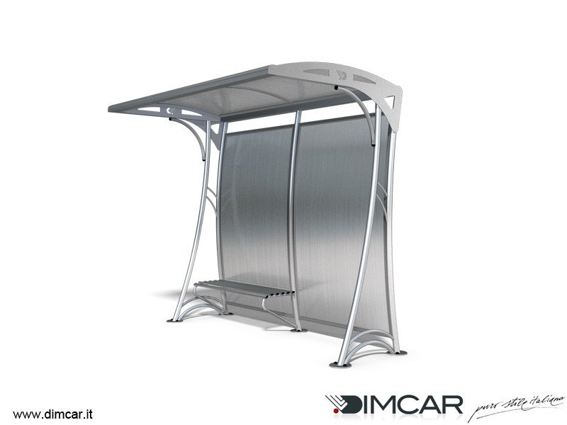 Metal porch Pensilina Edora - DIMCAR
