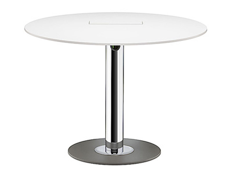 Round MDF meeting table SPIRA | Round meeting table - Brunner