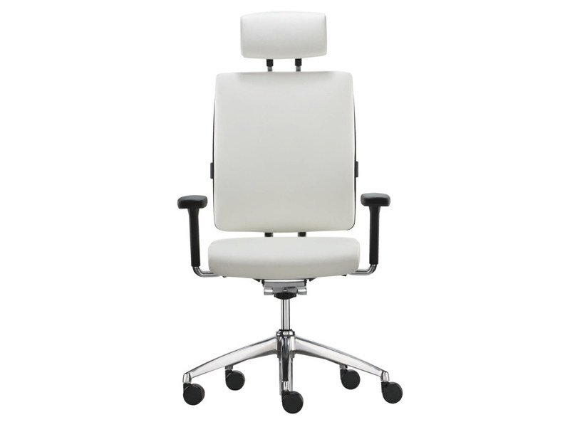 Task chair with 5-Spoke base with armrests TOO | Task chair with armrests - Brunner