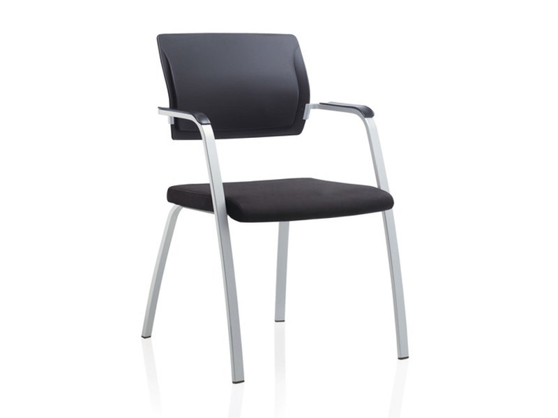 Visitor's chair with Armrests TOO | Visitor's chair - Brunner