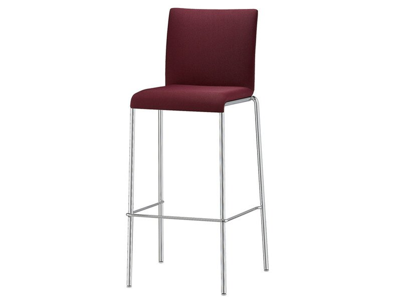 Counter stool with footrest VERONA | Counter stool - Brunner