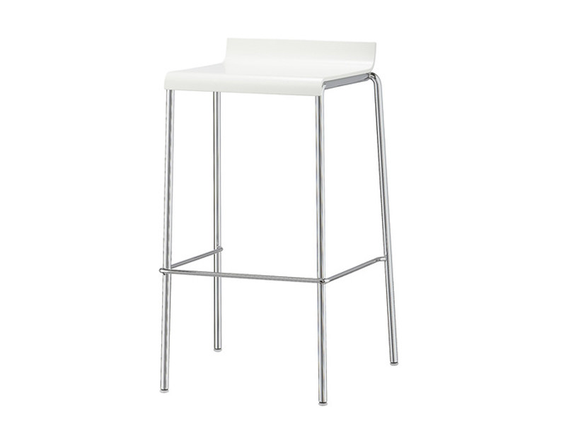 High plastic stool with footrest VERONA | Stool - Brunner