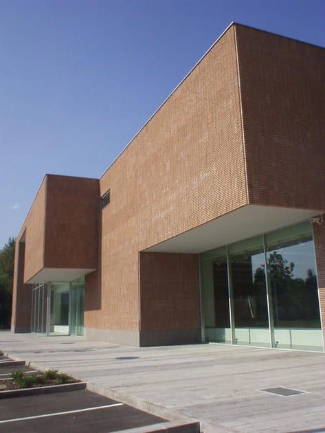 Pannello in cls a faccia vista pannello architettonico for Rivestimenti metallici orizzontali