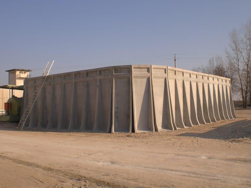 Special container Vasca prefabbricata - EDIL LECA Divisione PREFABBRICATI