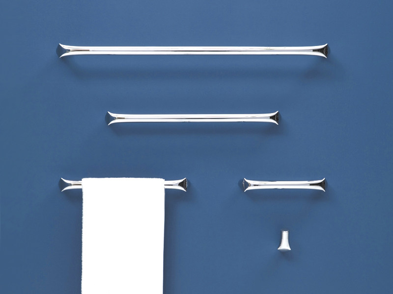 Chrome plated towel rail FOLD   Towel rack - CERAMICA FLAMINIA