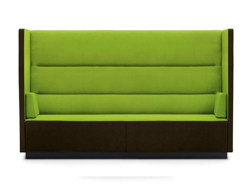 Fabric sofa FLOAT HIGH LARGE | Sofa - Offecct