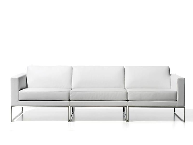 Leather sofa DS-160   3 seater sofa - de Sede