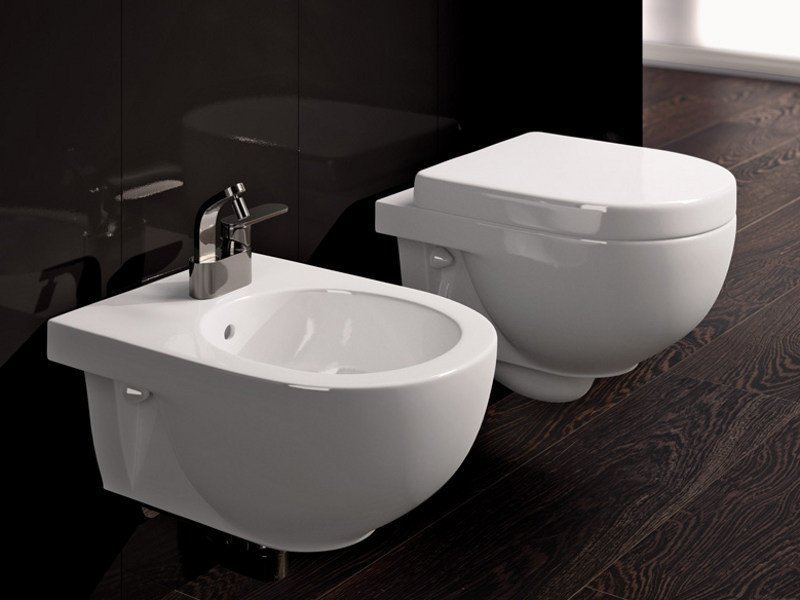 Wc sospeso in ceramica quick wc sospeso ceramica flaminia - Flaminia sanitari bagno ...