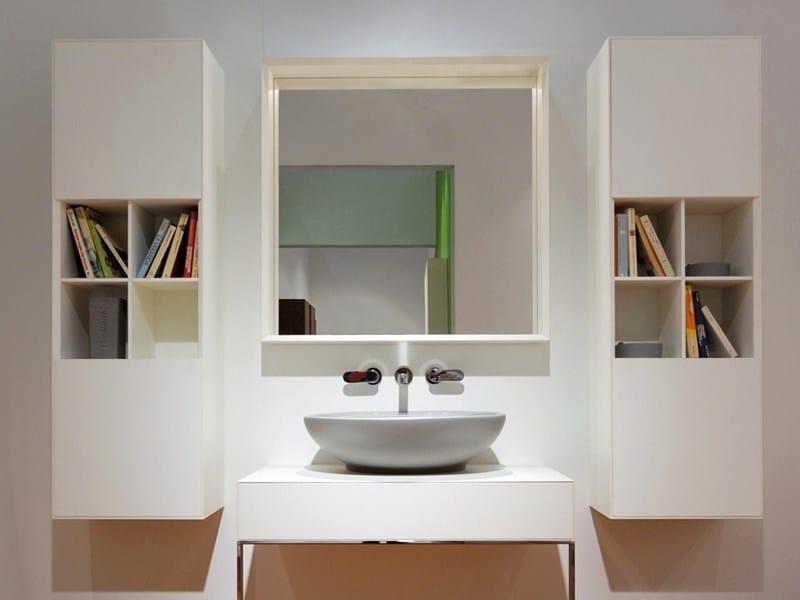 Compono system badm bel mit t ren by ceramica flaminia design giulio cappellini leonardo talarico - Cappellini mobili ...