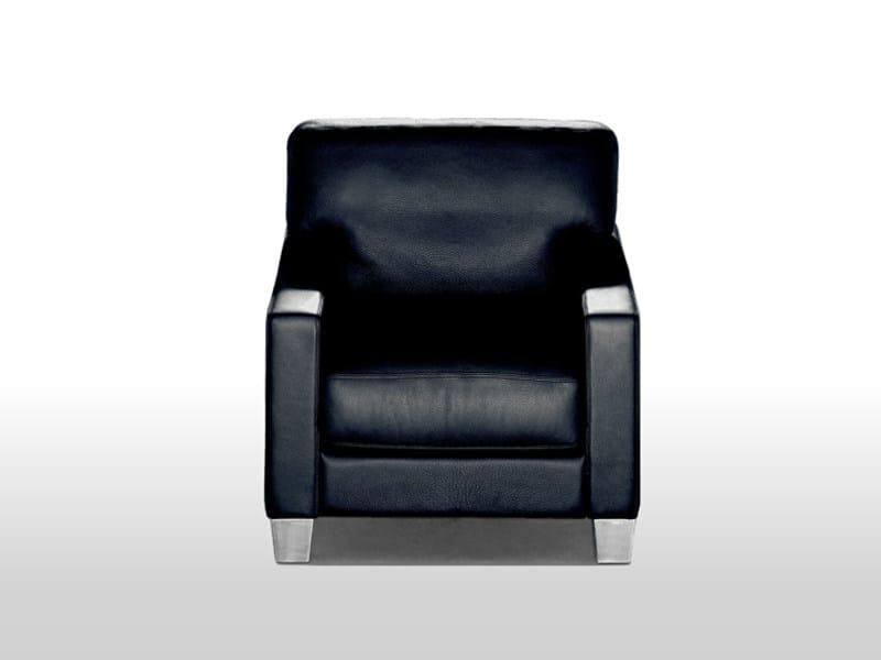 Leather armchair DS-17/117 | Armchair by de Sede