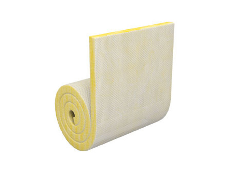 Panel in mineral fibre for thermal and sound insulation COMPATTO³ P70 - TERMOLAN