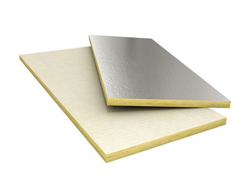 Panel in mineral fibre for thermal and sound insulation COMPATTO³ 525 Tuttaltezza ALU - TERMOLAN