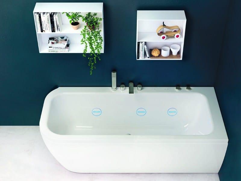 Vasca da bagno in acrilico hydroline nauha collezione - Vasca acrilico ...