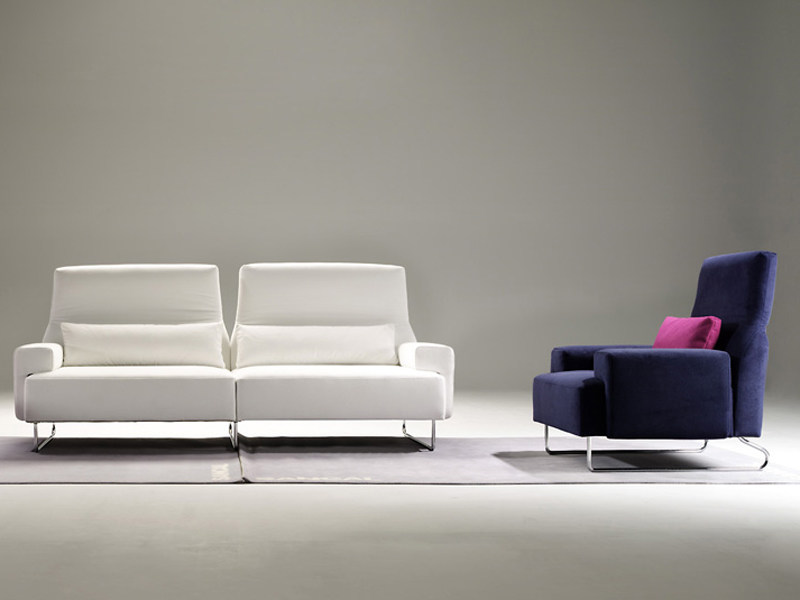 canap rembourr avec repose t te play by sancal dise o design rafa garc a. Black Bedroom Furniture Sets. Home Design Ideas