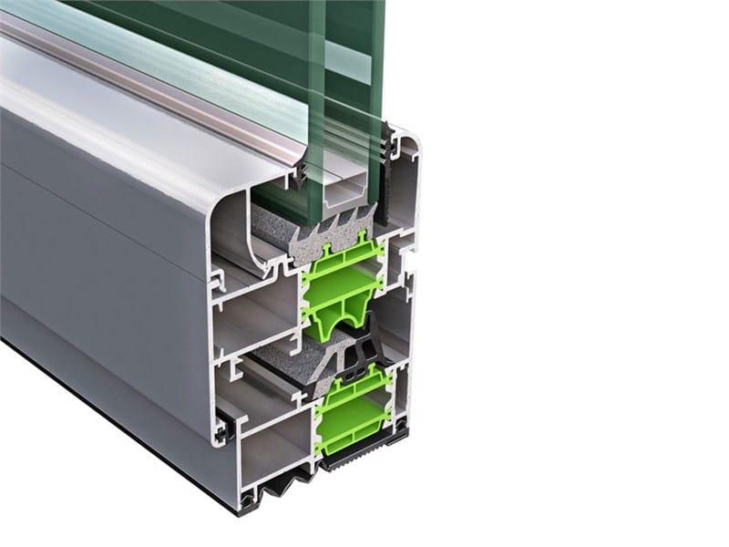 Aluminium thermal break window PLANET NEO 62 - ALsistem