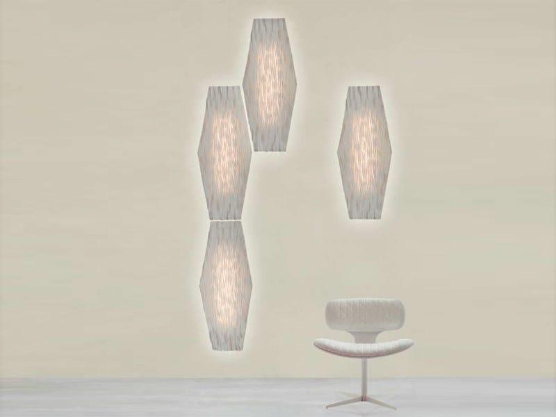Silicone wall lamp / ceiling lamp HEXA - arturo alvarez