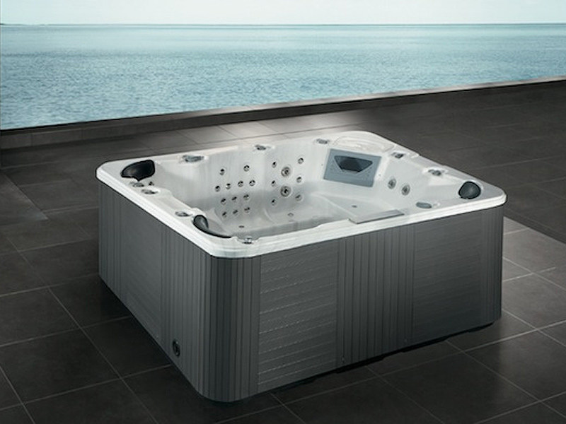 Rectangular hot tub for chromotherapy 7-seats BL-832 | Hot tub - Beauty Luxury
