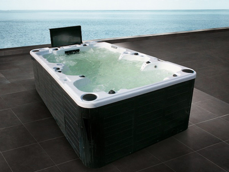 Hydromassage hot tub for chromotherapy 9-seats BL-851 | Hot tub 9-seats by Beauty Luxury