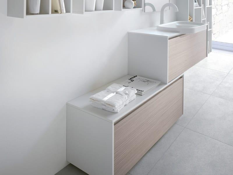 Single vanity unit METROPOLIS 15 - LASA IDEA