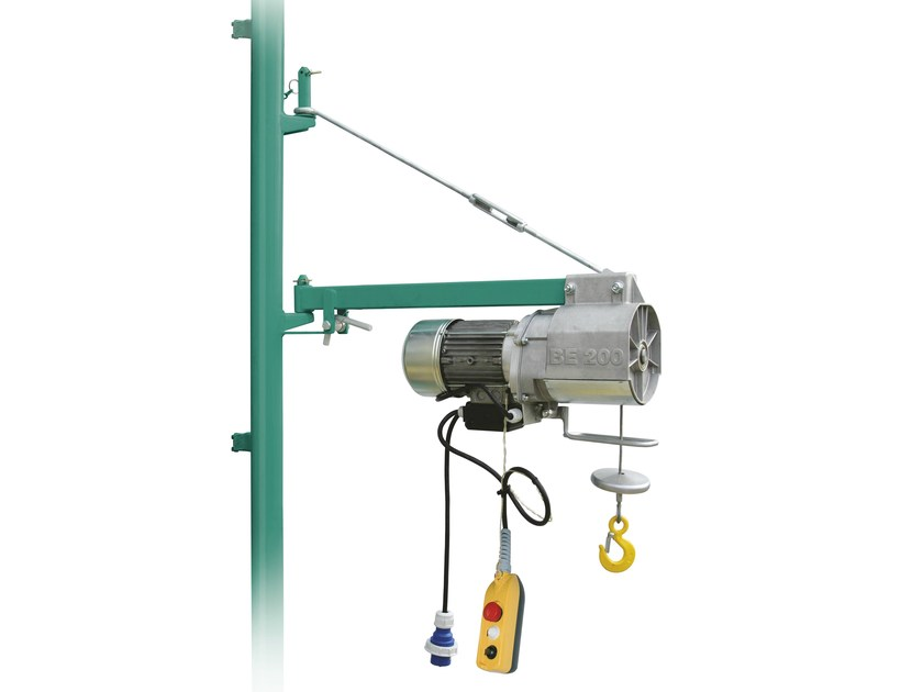 Construction hoist BE 200 - IMER INTERNATIONAL