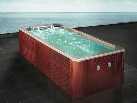 Rectangular swim spa 4-seats BL-823 | Swim spa by Beauty Luxury