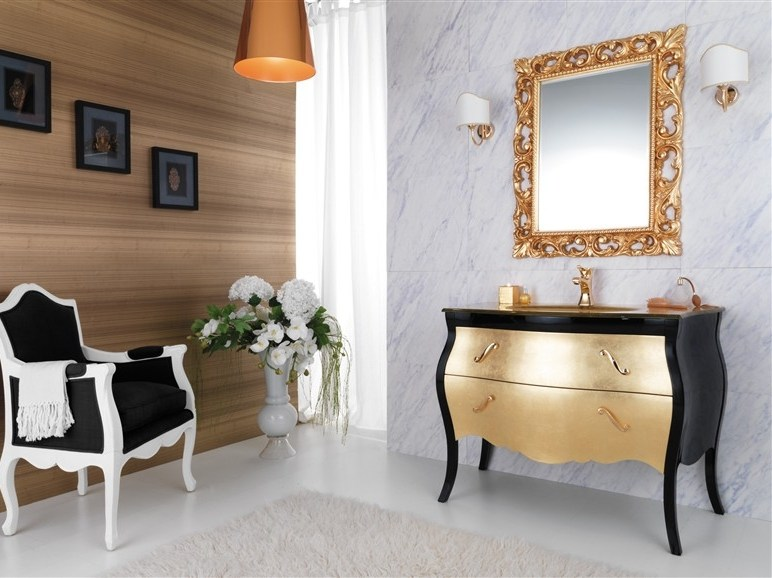Wooden vanity unit with drawers VANITY 5 - LEGNOBAGNO