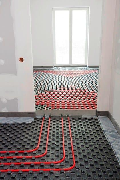 Pannello radiante a pavimento pannello radiante a - Posa piastrelle su pavimento radiante ...