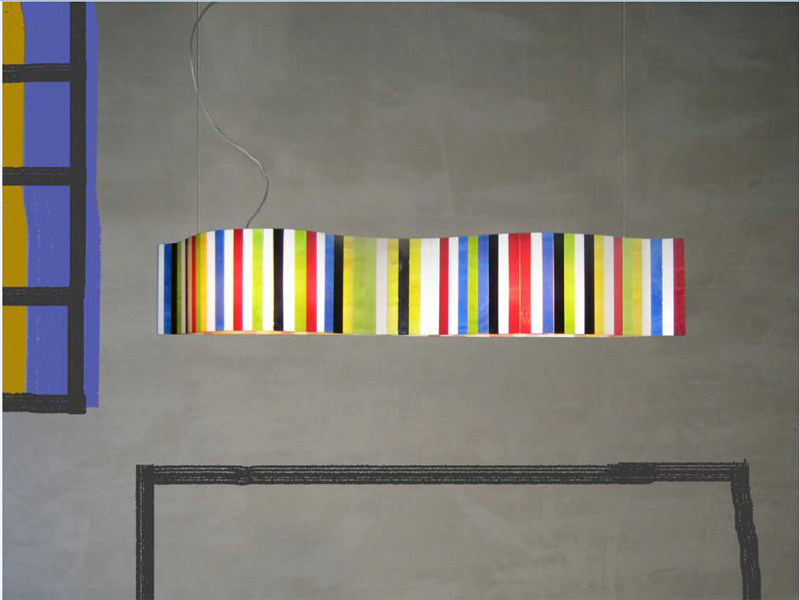 Steel pendant lamp VENTO POP | Pendant lamp by arturo alvarez